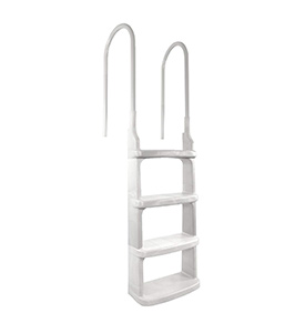 best main access easy incline above ground pool ladders