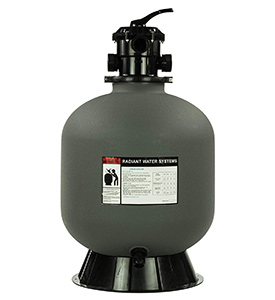 best pool sand filter rx clear radiant 24 in ground