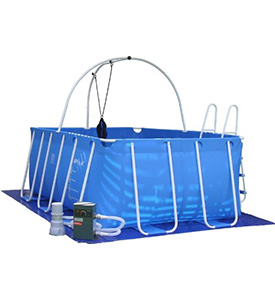 best fitmax iPool D Set above ground pool
