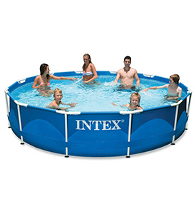 best intex 12ft x 30in above ground pool