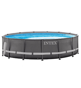 best intex 14ft x 42in ultra frame above ground pool