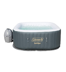 best coleman saluspa inflatable airjet inflatable hot tub