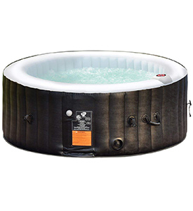 best goplus 4-6 person outdoor inflatable hot tub